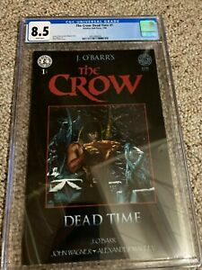 The Crow: Dead Time #1 CGC 8.5 WP (1996 Kitchen Sink James O'Barr)
