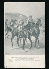 South Africa Earl Roberts Viscount Kitchener Boer Tuck #840 PPC used 1903