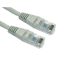 6m Grey Long RJ45 Cat5e Network Ethernet Cable Patch Lead LAN PREMIUM 24AWG