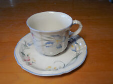 "Villeroy & Boch Luxembourg RIVIERA Set of 4 Cup & Saucer Sets 8 pcs 2 5/8"" Large"