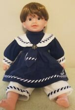 "Cathay Collection 20"" Vinyl & Cloth Laughing Numbered Doll in Sailor Outfit"