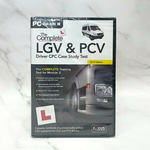 The Complete LGV and PCV Driver CPC Case Study Test 2019 Edition