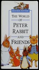 Beatrix Potter - The World of Peter Rabbit & Friends - 3 VHS Tapes in Slipcase