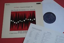 MB 853 Valois Stereo J.S Bach Organ Works Michel Chapuis Vol.13 FRANCE LP 1969