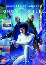 P Ghost in the Shell DVD (2017) Scarlett Johansson, NEW AND SEALED