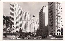 BRAZIL - S.Paulo - Rua Sao Luiz - Photo Postcard 1956