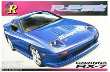 Aoshima 1/24 Model Car Kit Mazda Savanna RX-7 RE Amemiya FC3S Full Aero Ver.