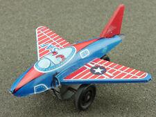 S2 Japan USAF Air Force Tin lito Airplane pennytoy 60er RARE 1604-25-17