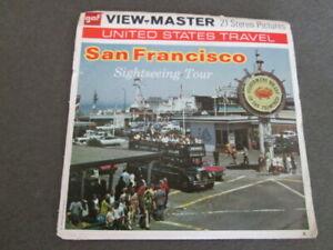 SAN FRANCISCO, WIEV - MASTER, THREE REELS WITH BROCHURE, GAF