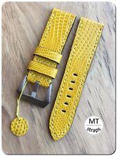 Cinturino lucertola 24mm Handmade Pam Lizard Leather Watch Strap24