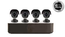 Yale Smart HD720 CCTV System 4 Camera 8 Channel (B) 1TB Harddrive - BRAND NEW