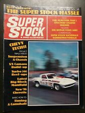 Super Stock November 1975 Dodge, Ford,  Chevette, Chevrolet, Camaro, Chrysler