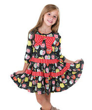 JELLY the PUG size 4 ADORABLE Girl's Candy Apple Cherie Knit Dress 4