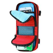 Travel Case Organizer Tech Storage Bag for Small Electronics Smart Phones Cables