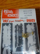 Cal-Scale HO #222 Exhaust Muffler w/Valve (Brass Casting)