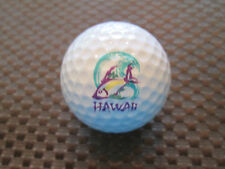LOGO GOLF BALL-HAWAII.......COLORFUL FISH  LOGO