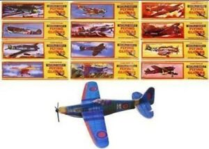 1x Flying Gliders Planes WW II Party Loot Bags Lucky Dip Fillers Kids Child UK