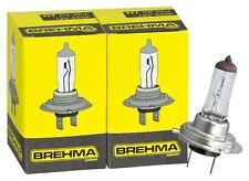 2x H7 BREHMA Halogen Autolampe 12V 55W Xenon Gas befüllt Glühbirne