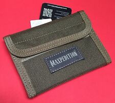 Maxpedition Spartan Wallet Teflon Fabric Water & Abrasion Resistant Nylon FOL