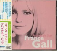 France Gall ‎Poupée De Son JAPAN CD GREATEST HITS 23track with OBI PHCA-3065
