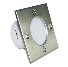 230V Treppenstufen-Beleuchtung Wandspots Royal-S, 1,5Watt, IP20 von Kamilux A+