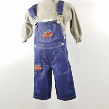 Overalls and Sweat Shirt Boys Outfit Size 6- 9 months Baby Headquarters My Kids