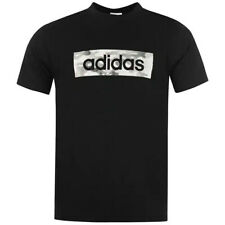 Mens T Shirts ADIDAS Tops Short Sleeve Crew Tees S M L XL XXL Size Medium Large