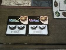 Select Lash The Choice of Professionals 2 sets S99 -S 66 Black Lashes