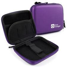 Purple Carry Case W/ Adjustable Belt Loop For Garmin Nuvi 2495LMT, 40LM & 465LMT