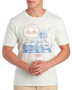 Chevy Corvette Convertible 1961 Route 66 T-Shirt - Men's L XL XXL - New w/Tags!