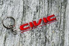 Civic keychain for Honda cars logo vti JDM vtec decals stickers