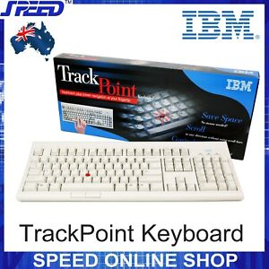 IBM KPD8923 Trackpoint PC Keyboard -01K1219 / 01K1259 / 04K0050 -(PS2 Interface)