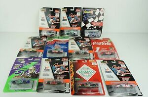 Lot of 11 Revell 1:64 Darrel Waltrip Mark Martin Terry Lebonte Bobby Nascar