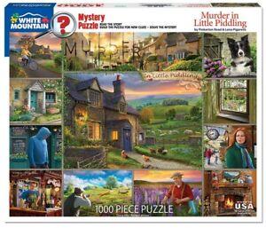 Mörder At Little Spiel Mystery 1000 Teile Puzzle 760mm x 610mm ( WMP )