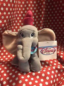 The Disney Store Dumbo Mini Bean Bag-Beanie TAGS