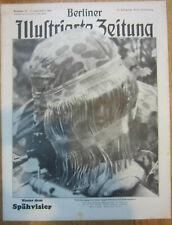 1942 German Magazine CAMO Sniper soldier Helmet rivista tedesca Rare
