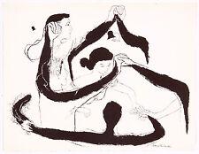 David Stone Martin Couples Dancing Lithograph Music Dance