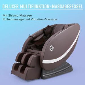 CRENEX® DELUXER MASSAGESESSEL RELAXSESSEL MIT HEIZUNG MULTIFUNKTION