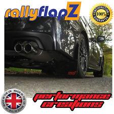 RallyflapZ SUBARU WRX/STI Qty4 Parafanghi & fissaggi NERO plantare STI Small Rosso 4 mm PVC