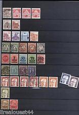 Album de timbres du monde (majorité Reich, DDR) + Monaco Polska Korea DDR