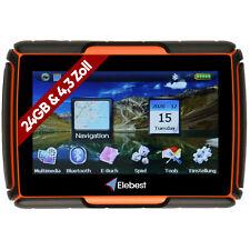 Elebest 4,3 Zoll GPS Navigationsgerät Navi Motorrad PKW Wasserdichte Bluetooth