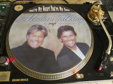 "Modern Talking - You're My Heart You're My Soul Rap Mix Rare 12"" Picture Disc LP"