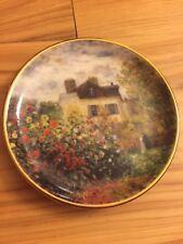 Goebel Artis Orbis Claude Monet Small Plate 3.75� Le Maison