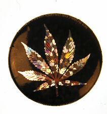 feuille d'herbe BADGE - holographique