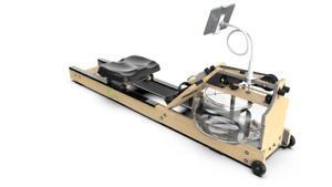 Limepeaks LMP-3019 Oak Wood Hybrid Water Rowing Machine with Water Resistance