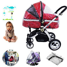 Rain Cover PLUS Size Raincover Fit Universal Hauck Shopper Sport Buggy Pushchair
