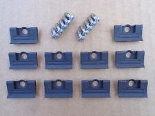 10 NOS WINDSHIELD MLDG CLIPS & SCREWS W/SEALER! -FOR C3 CORVETTE 1968-1982 7937C