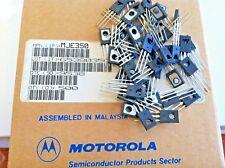 100 Pieces   MJE350 Plastic Power PNP Silicon Transistor New Original MOTOROLA