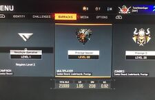 Black Ops 3 Prestige Master Account level 69 For (PS4) Bo3 Diamond DLC Weapons