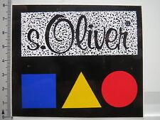 Aufkleber Sticker S Oliver - Mode Kleidung Accessories (6716)